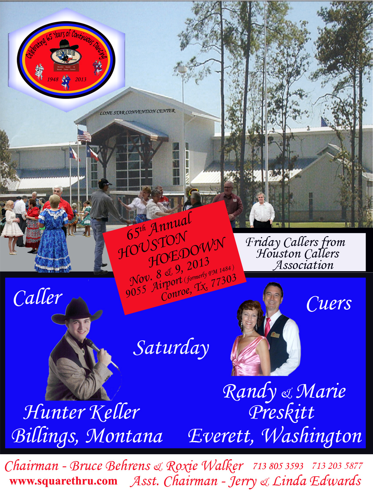 65 Annual Hoedown Flyer